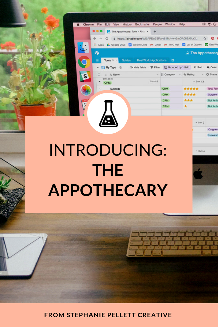 Introducing The Appothecary | Stephanie Pellett Creative