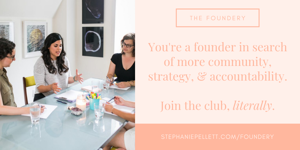 The Foundery | Stephanie Pellett Creative