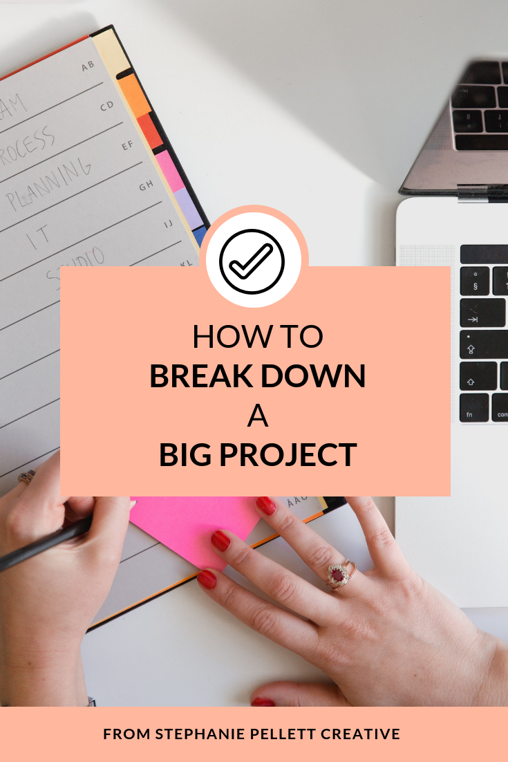 How to Break Down a Big Project – Stephanie Pellett Creative